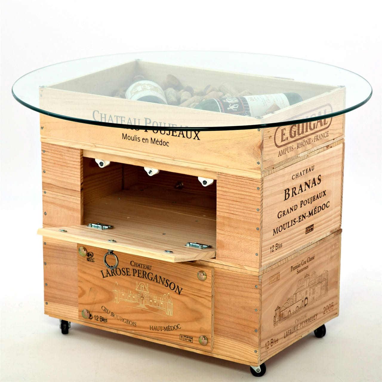 Table Basse En Caisse A Vin table basse givry